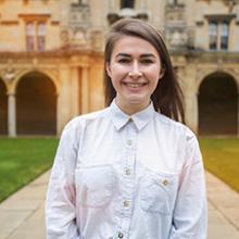 Ertegun Scholar Emily Cox
